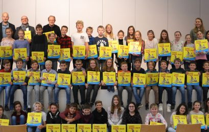 Lesen macht stark – Projektstart am Schulzentrum Kißlegg