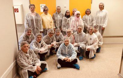 Schüler und Schülerinnen der Werkrealschule besuchten PEKANA Naturheilmittel