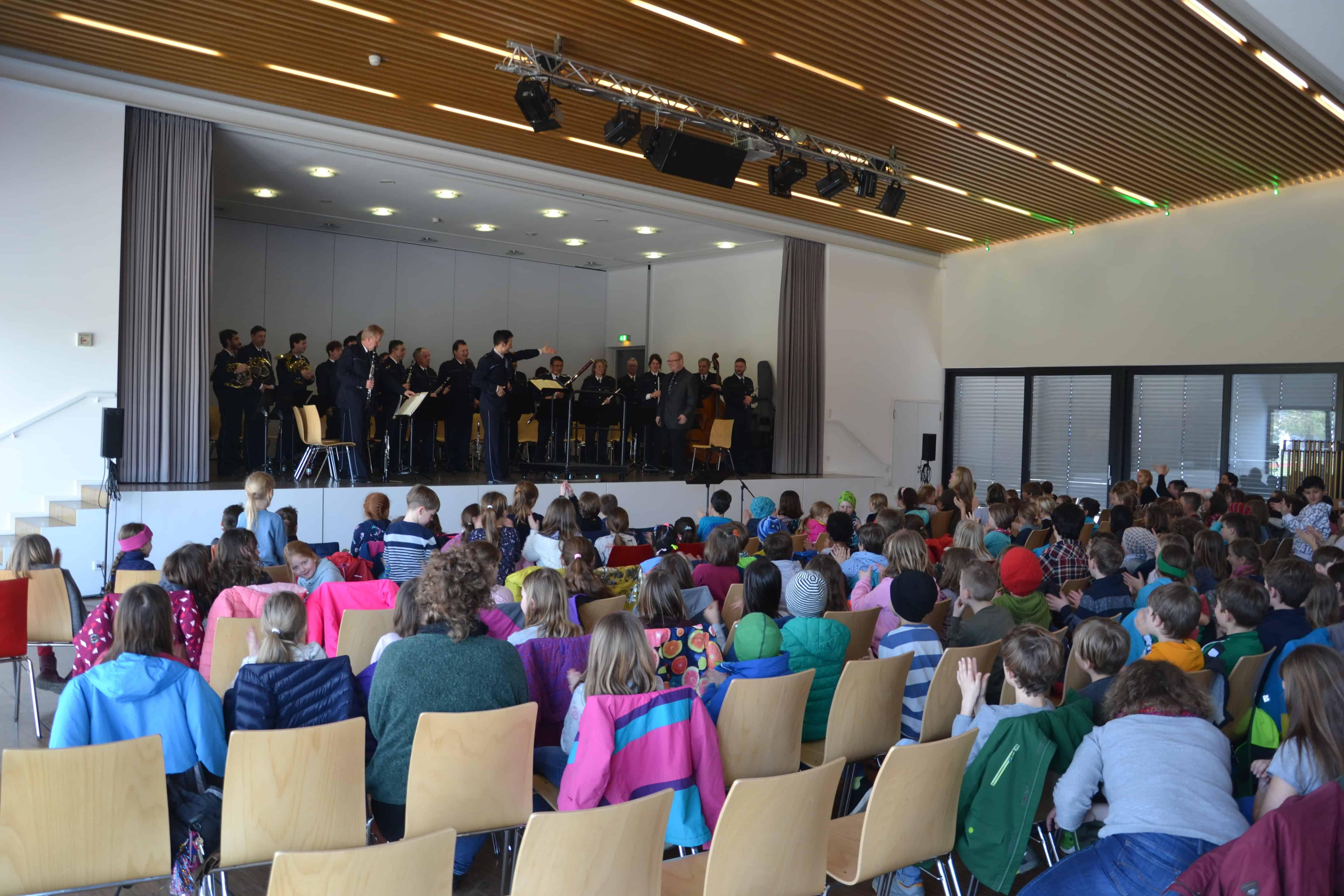 Landespolizeiorchester musiziert in Kißlegg!