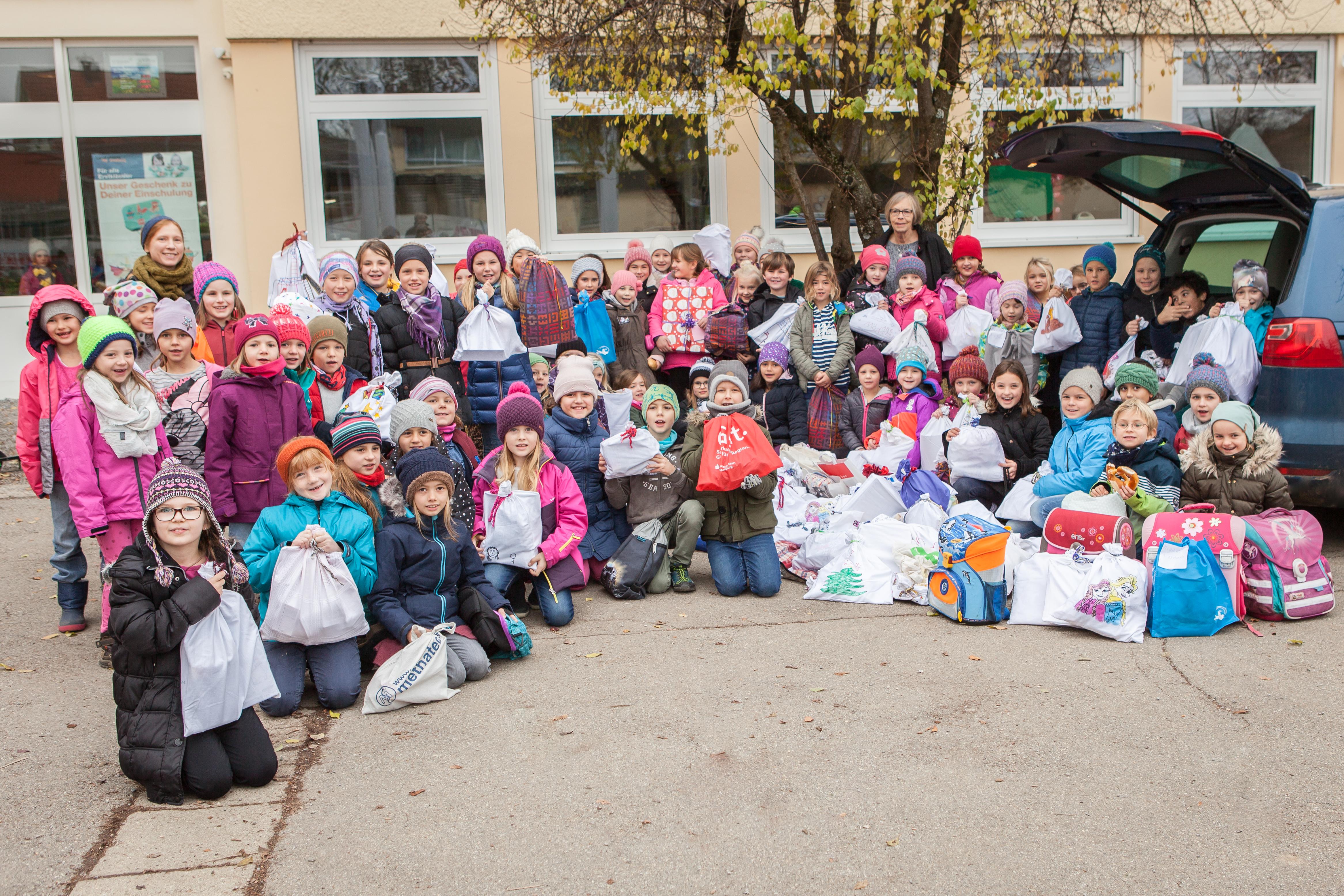 184 Päckchen für Rumänien