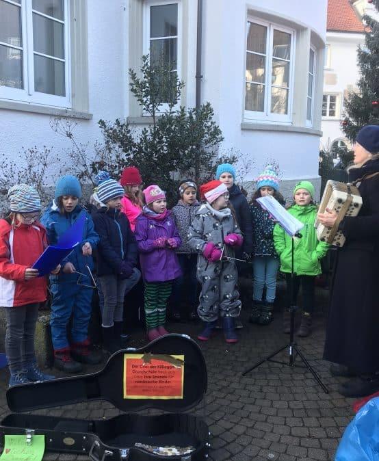 Zwei Konzerte des Kißlegger Grundschulchores
